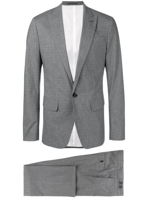 Dsquared2 Classic Two Piece Suit In Grey