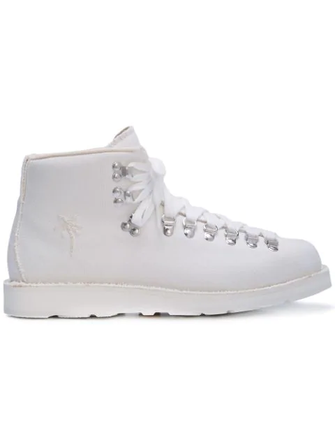 Diemme Palm Tree Hiker Boots In White