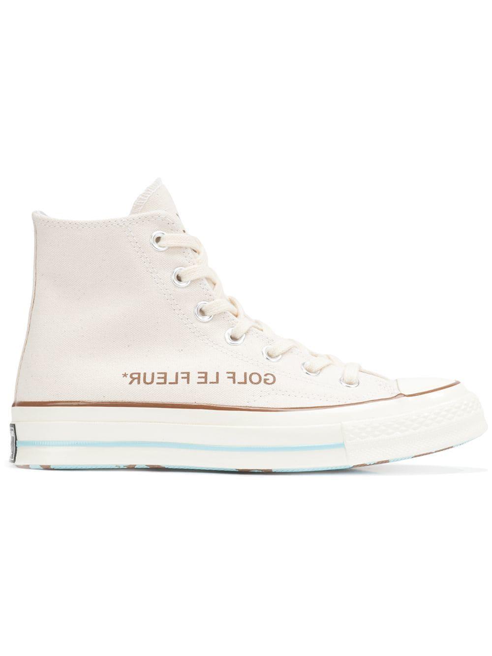 Converse Golf Le Fleur Chuck 70 High Top Sneakers - White
