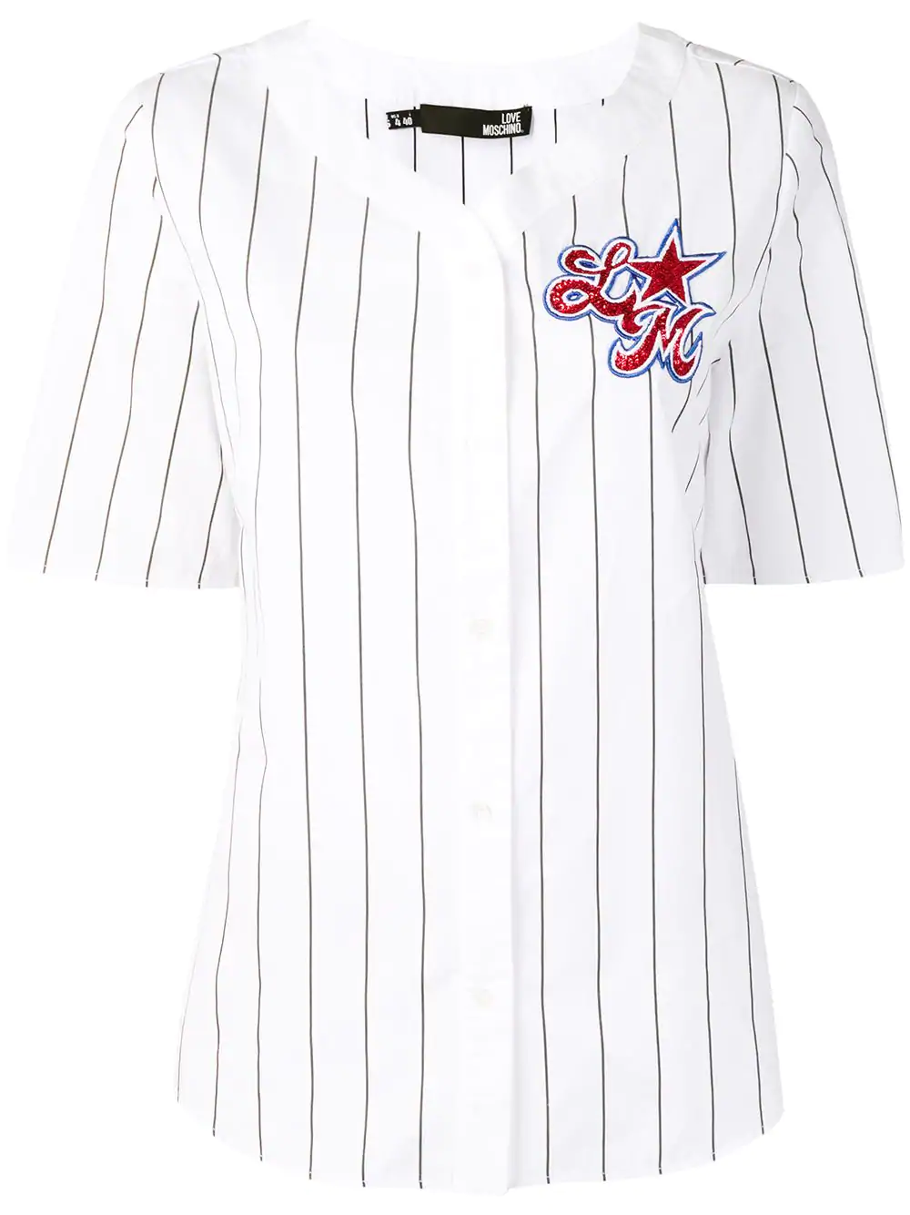 deb54f0ecf Love Moschino Sequin Embellished Shirt - White   ModeSens