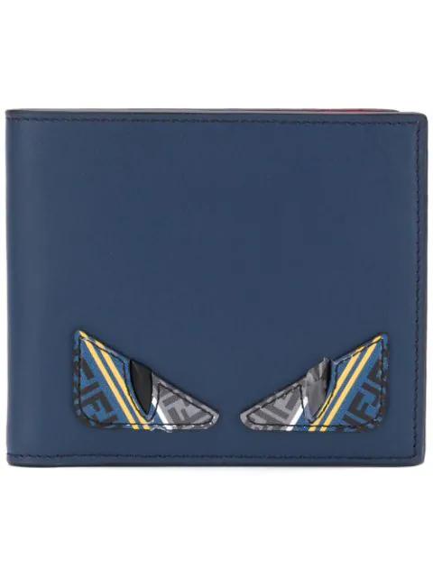 42b5bfe39e Fendi Bag Bugs Bifold Wallet - Blue In F15Il Mlti | ModeSens