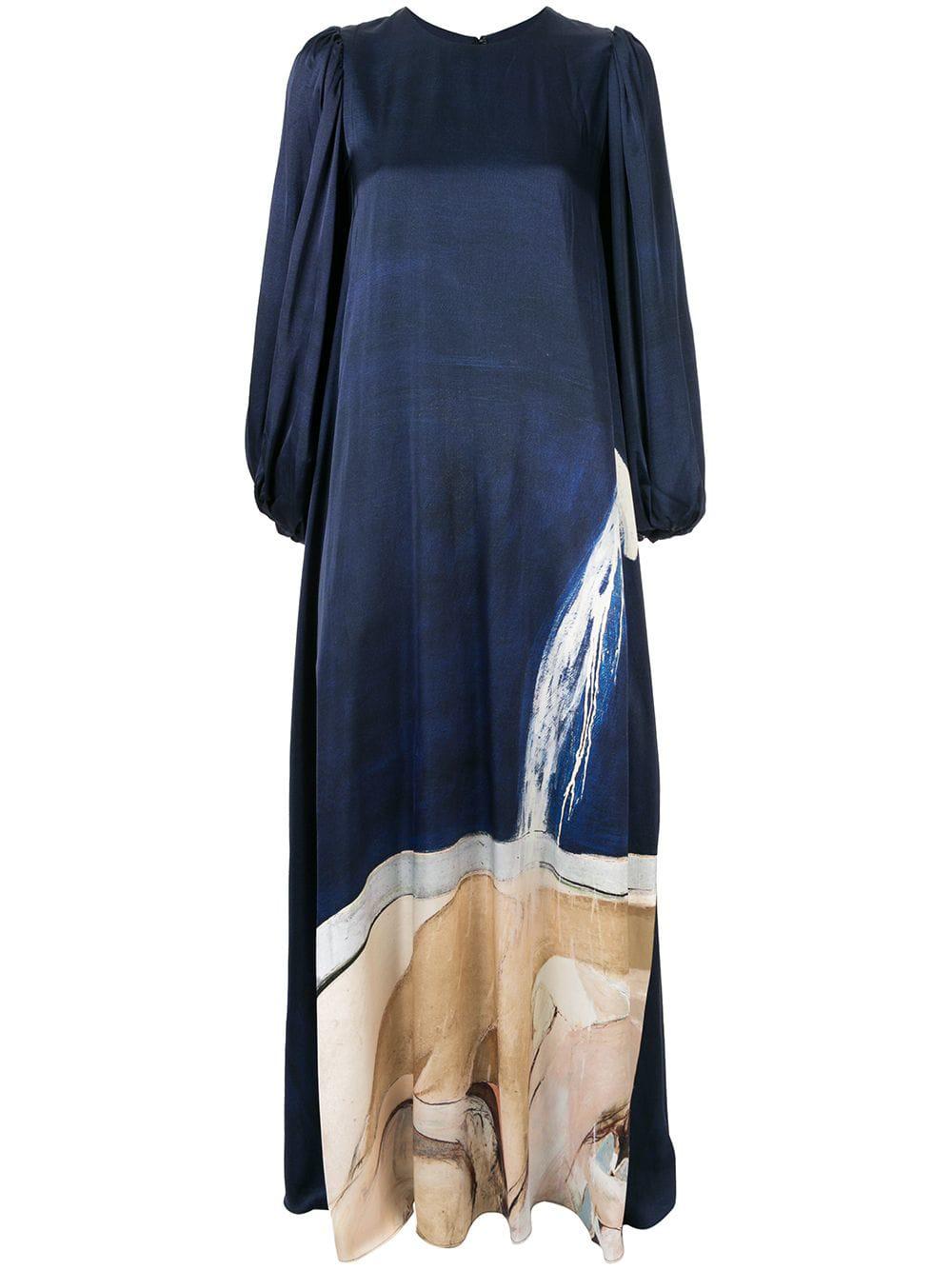 Aje 'Somerset' Abendkleid - Blau In Blue
