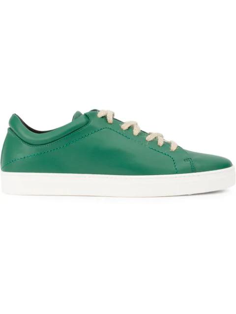 Yatay Neven Low Sneakers In Green