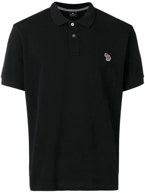 Ps By Paul Smith Classic Polo Shirt In Black