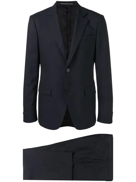 Givenchy Suit In Blue