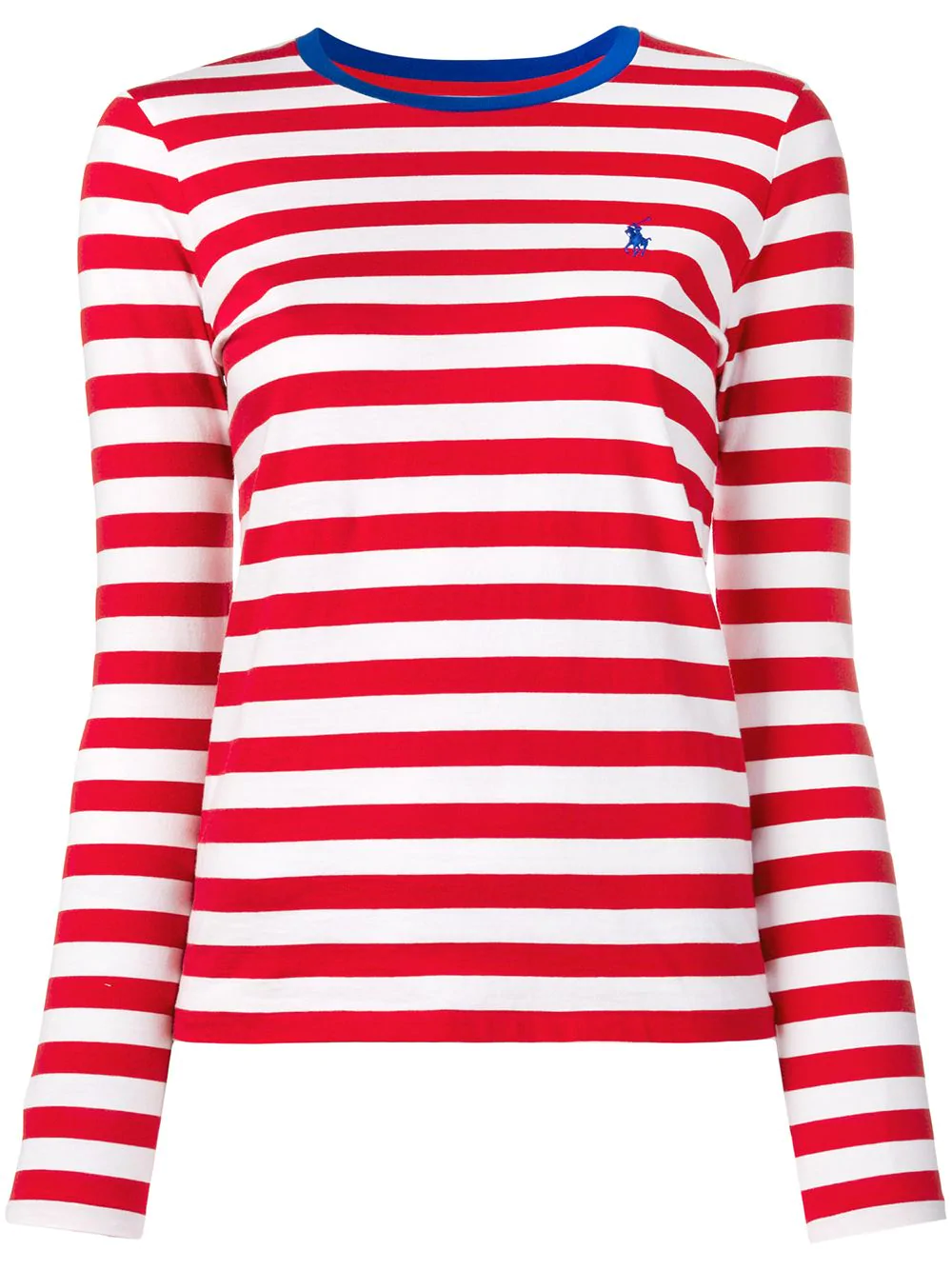 Striped Red T Shirt Lauren Ralph Polo WDIH2E9