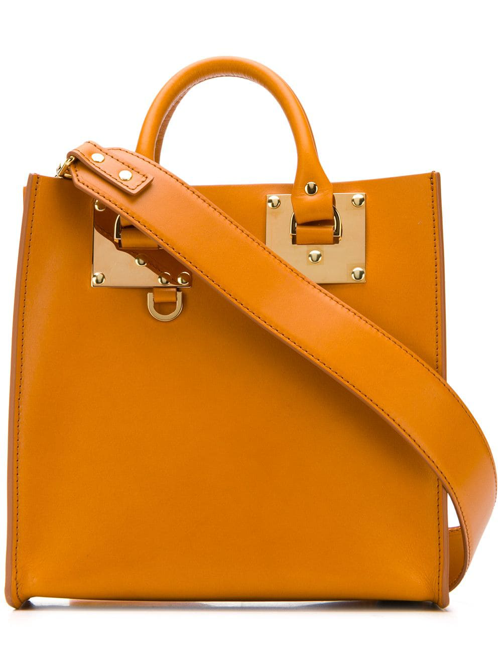 Sophie Hulme Albion Tote Bag - Orange