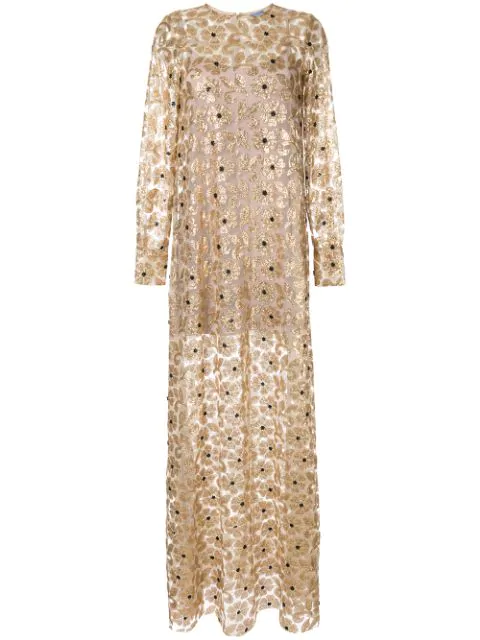 Macgraw Soiree Dress In Gold