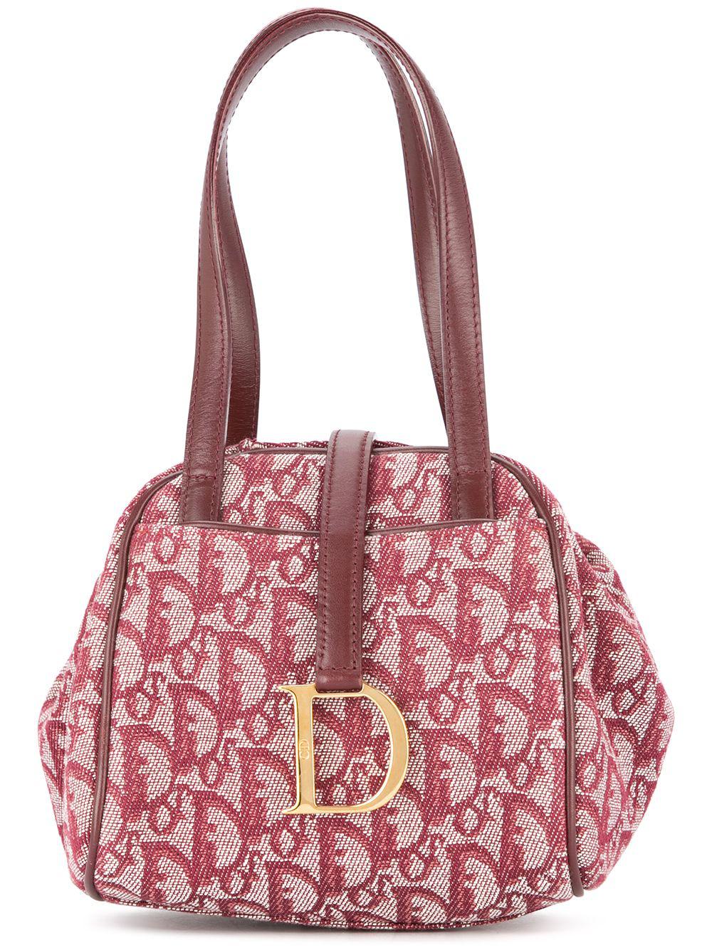 3ef30d17124 Dior Christian Vintage Trotter Hand Bag - Red In 红色   ModeSens