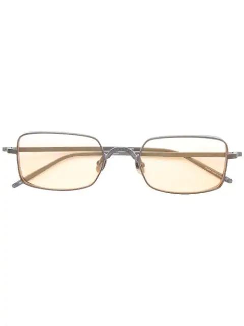 Matsuda Square Frame Sunglasses In Grey