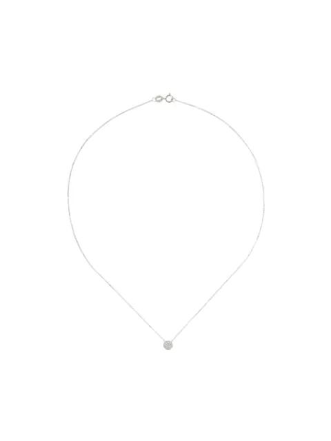 Dana Rebecca Diamond And 14kt White Gold Lauren Joy Necklace