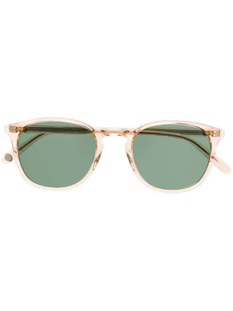 Garrett Leight Kinney Sunglasses In 粉色
