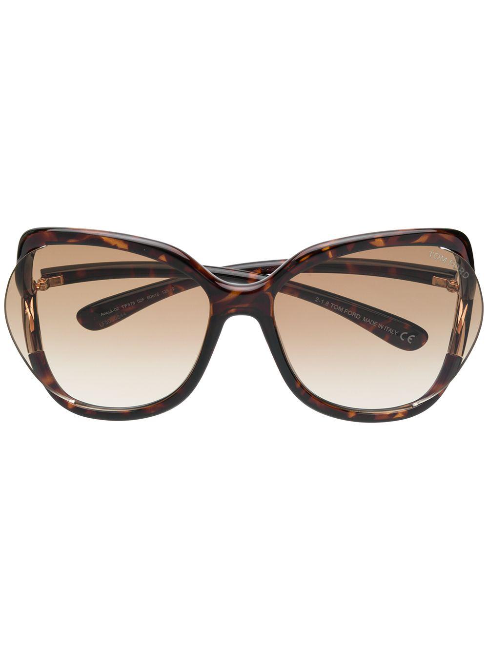 84f1b626d5a8 TOM FORD. Tom Ford Eyewear Anquk 02 Sunglasses ...