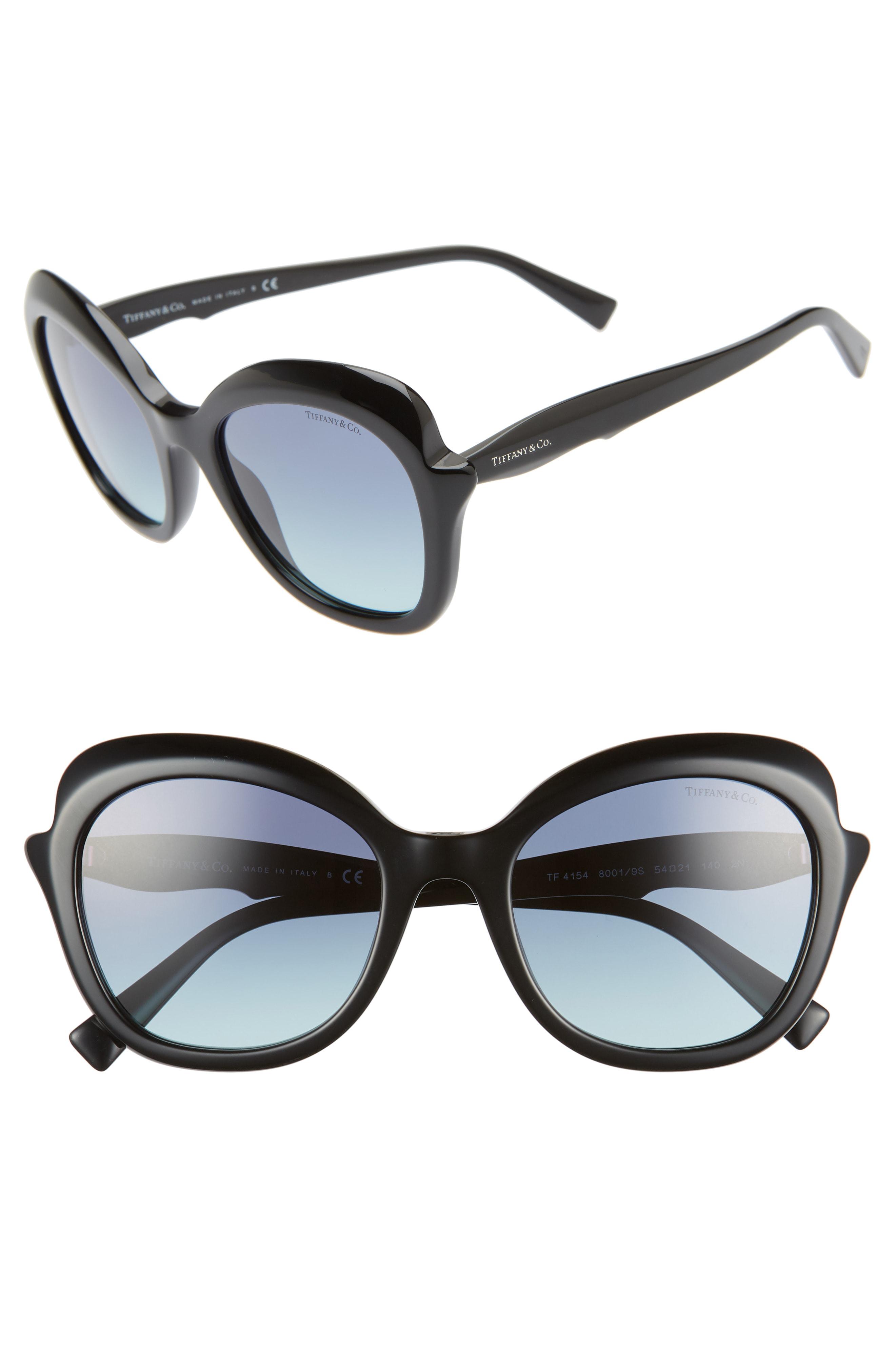 d91aba210d3 Tiffany   Co Paper Flowers 54Mm Gradient Round Sunglasses - Black Gradient