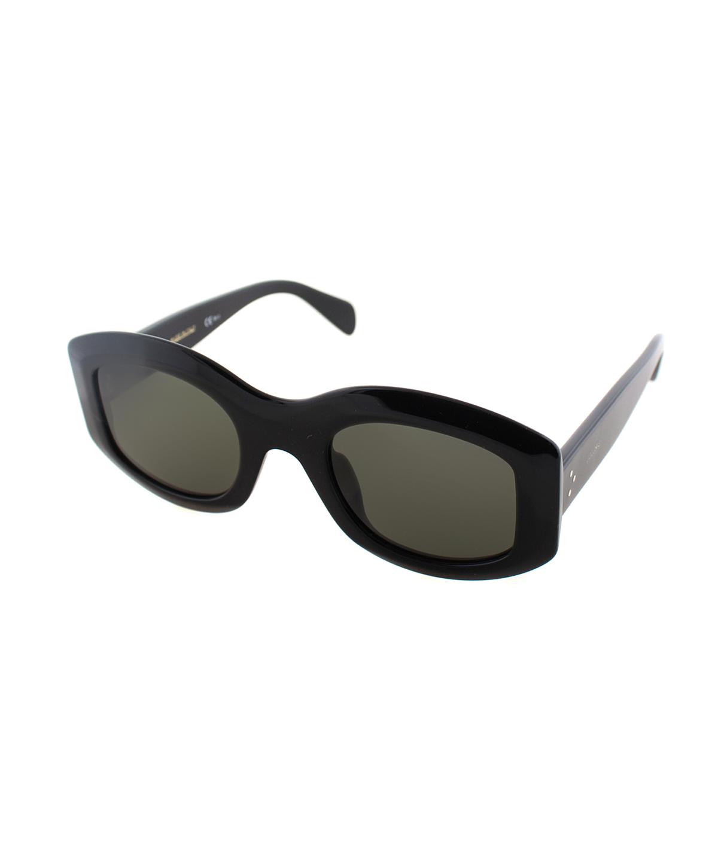 619e8c320b73 Celine Oval Plastic Sunglasses  In Black