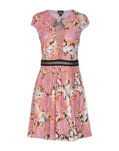 Just Cavalli Short Dress In Salmon Pink