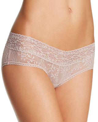 Calvin Klein Bare Lace Hipster #qd3597 In Fresh Taupe