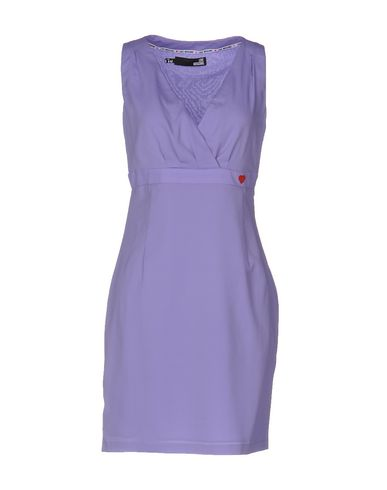 Love Moschino Short Dress In Lilac
