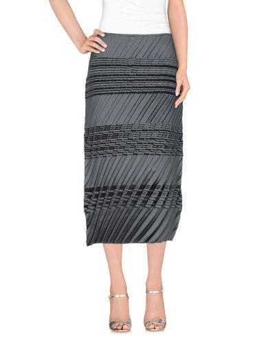 Jil Sander 3/4 Length Skirts In スチールグレー