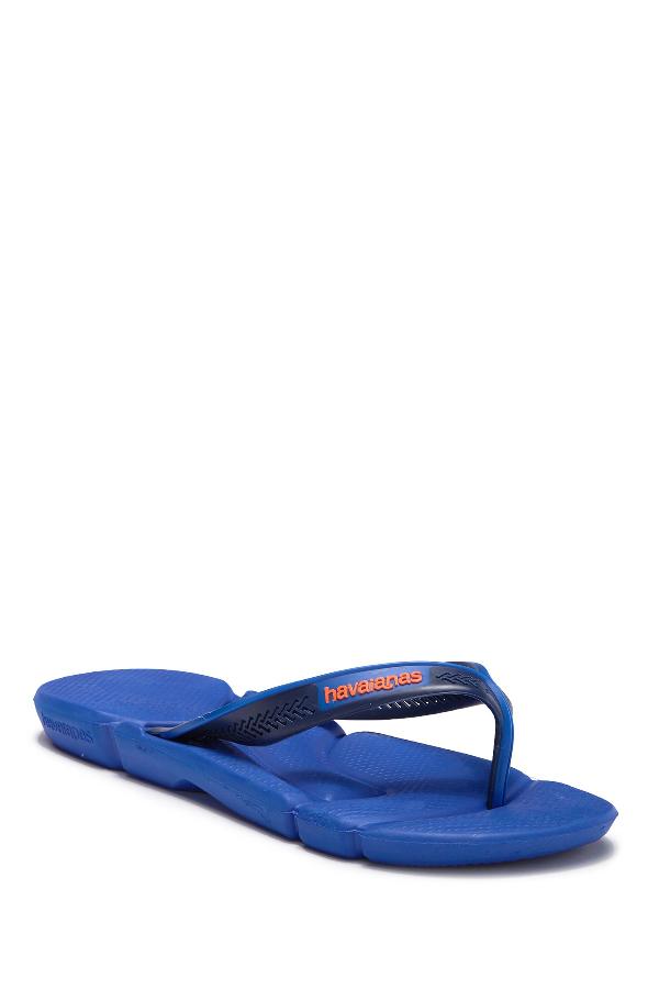 reputable site a1fde bac9f Men's Power Flip Flops Men's Shoes in Blue Star