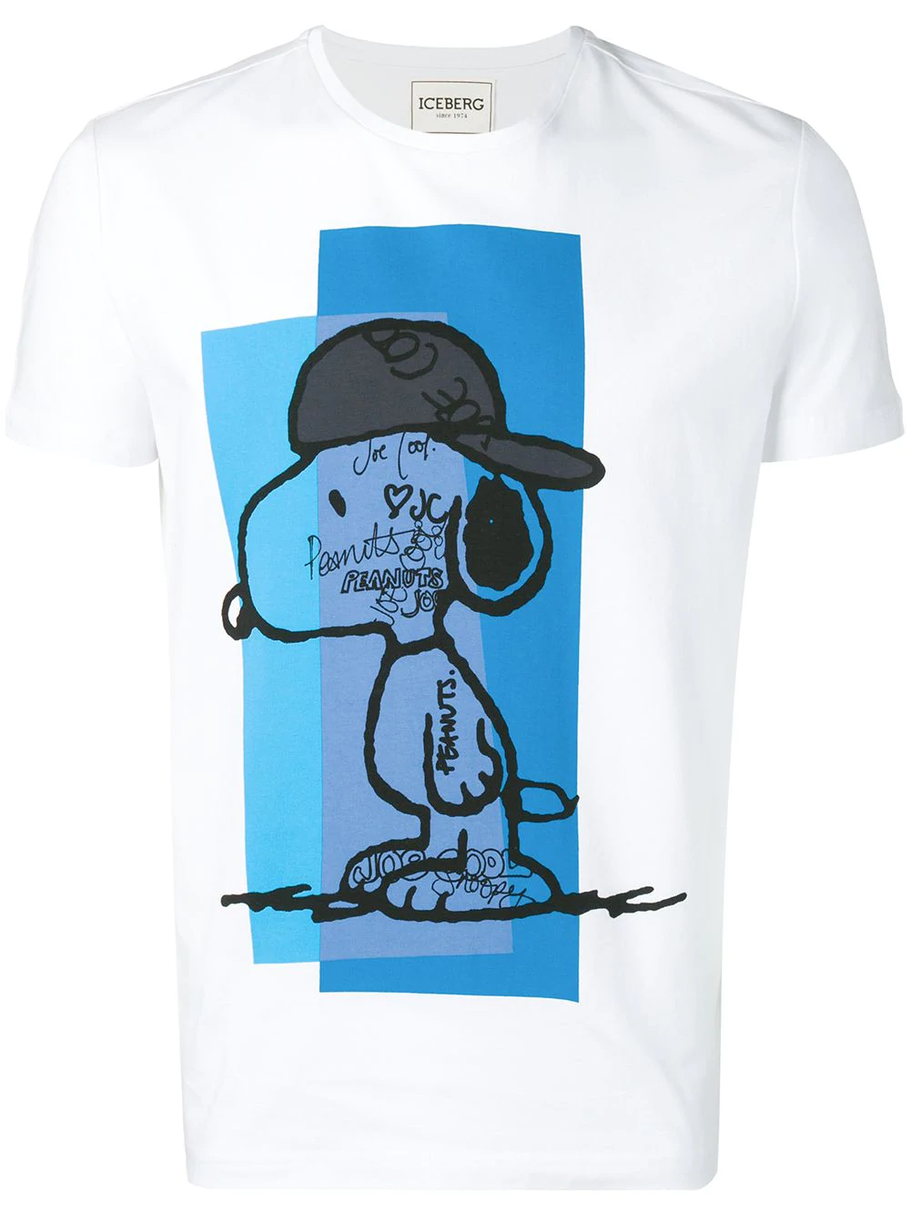 f0030cad255 Iceberg Graphic Print T-Shirt - White