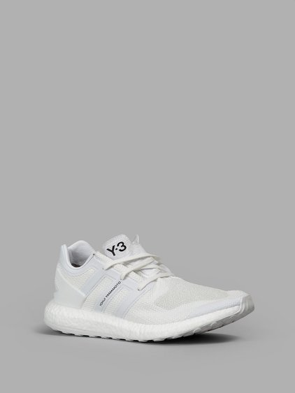e5b47a4c51444 Y-3 Men. Y-3. Men s Pureboost Low Sneakers In White