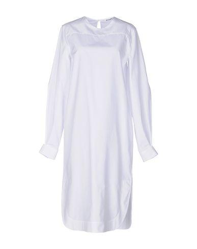 Jil Sander Knee-length Dresses In White
