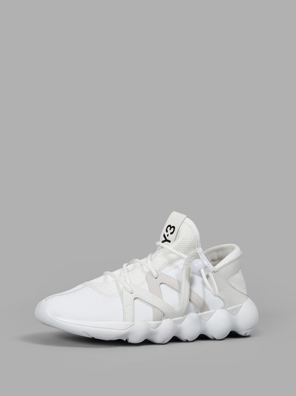 0186abc4eb67c Y-3 Kyujo Low Sneakers In White White