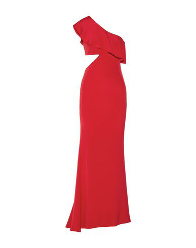 Cushnie Et Ochs Long Dress In Red
