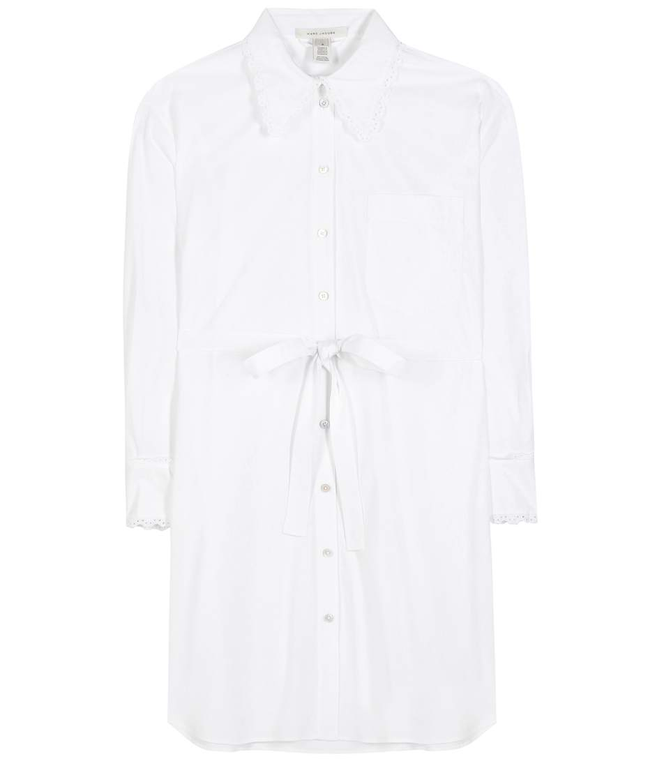 Marc Jacobs Cotton Dress In White