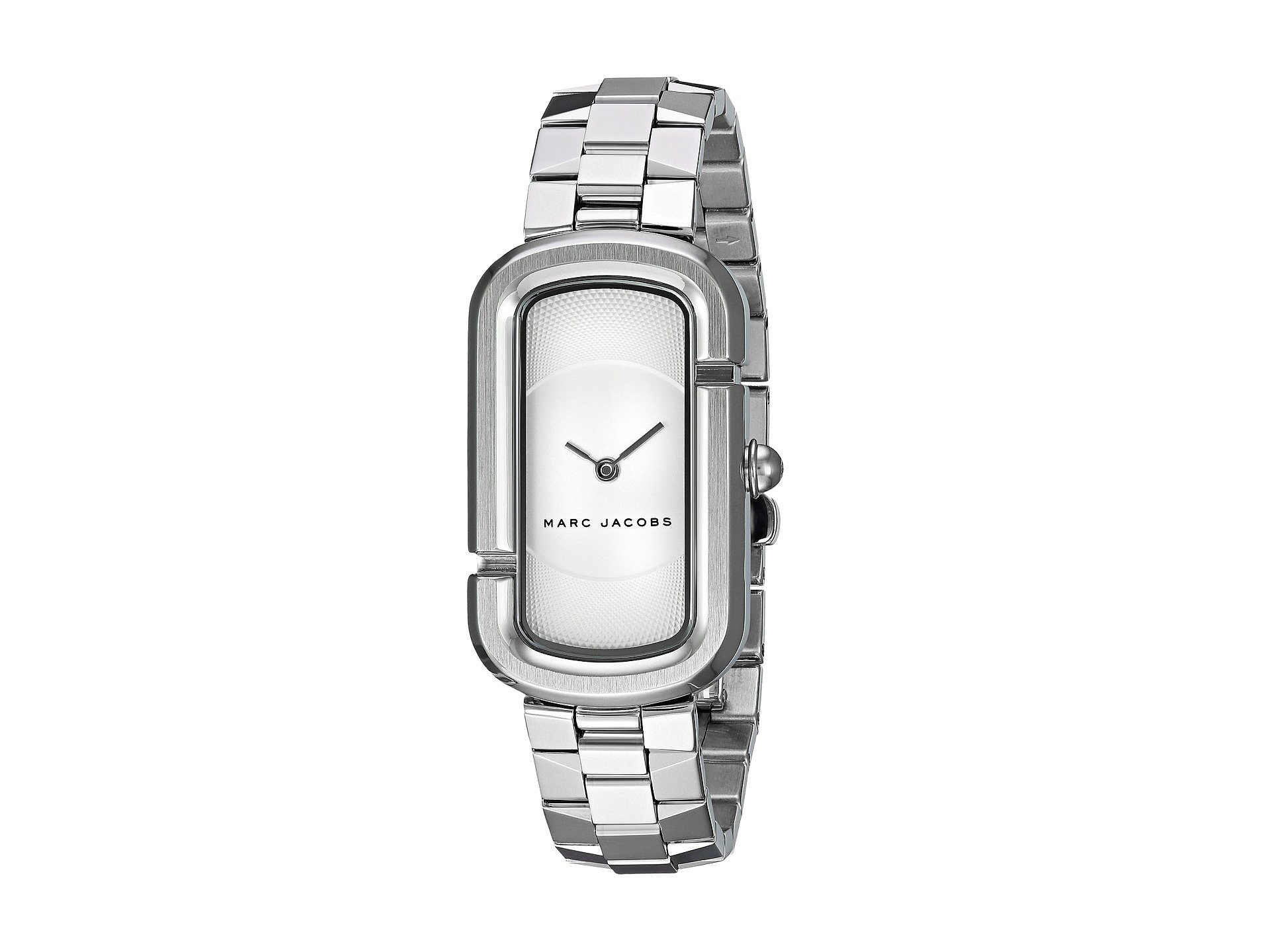 Marc Jacobs 'The Jacobs' Bracelet Watch, 31Mm In Silver