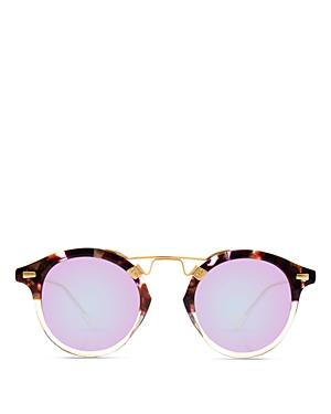 1aea5dfebd84 Krewe Women s St. Louis 24K Mirrored Round Sunglasses