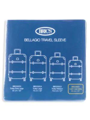 "Bric's Men's Bellagio 21"" Transparent Luggage Cover In Clear"