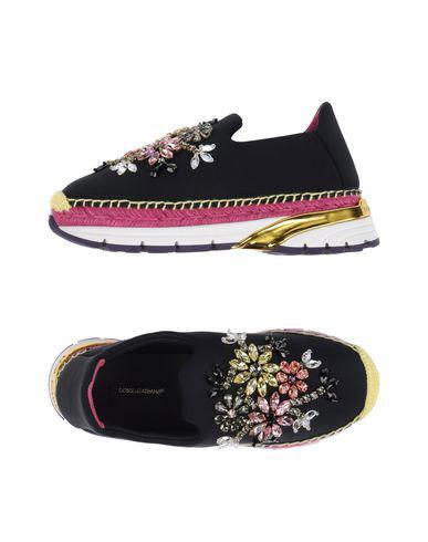 Dolce & Gabbana Espadrilles In Black