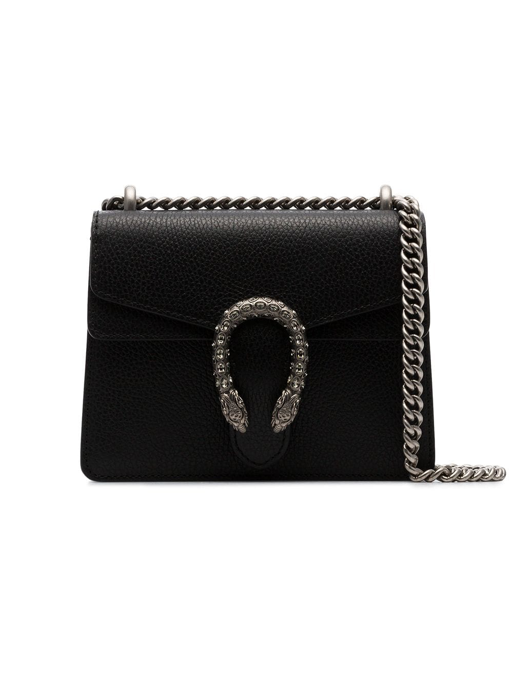 81650bd6fff Gucci Black Dionysus Mini Leather Shoulder Bag