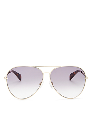 adc8a626a549 Rag   Bone Women s 1006 Mirrored Aviator Sunglasses