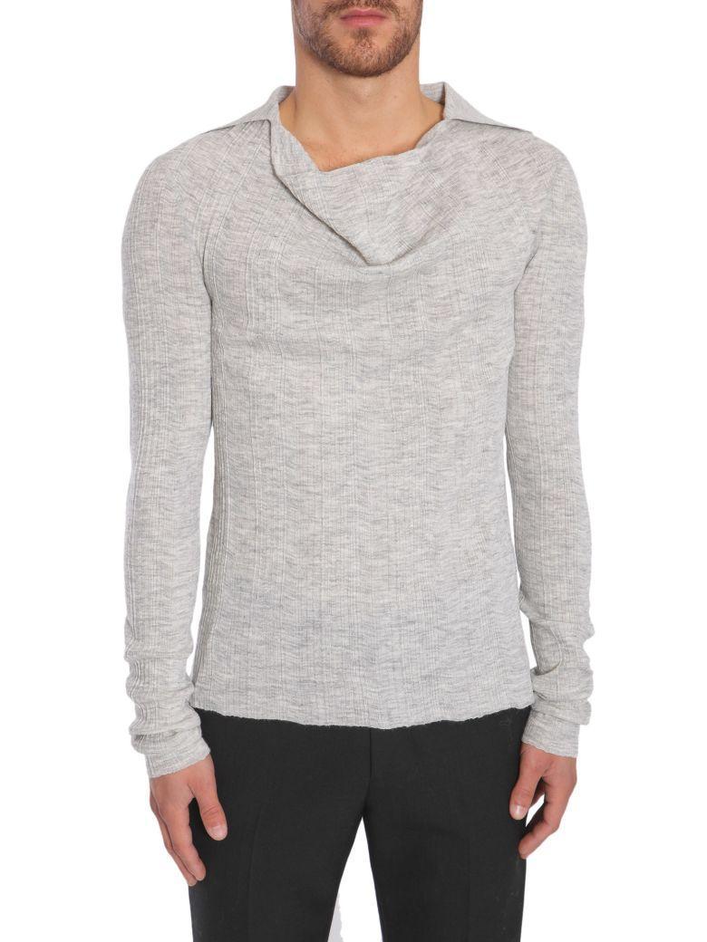 Lanvin Alpaca Blend Sweater In Grigio