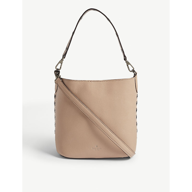 5a2bb1295b5572 Kate Spade Atlantic Avenue Libby Leather Bucket Bag In Ginger Tea ...
