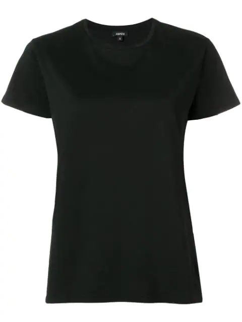 Aspesi Relaxed Fit T-shirt In Black