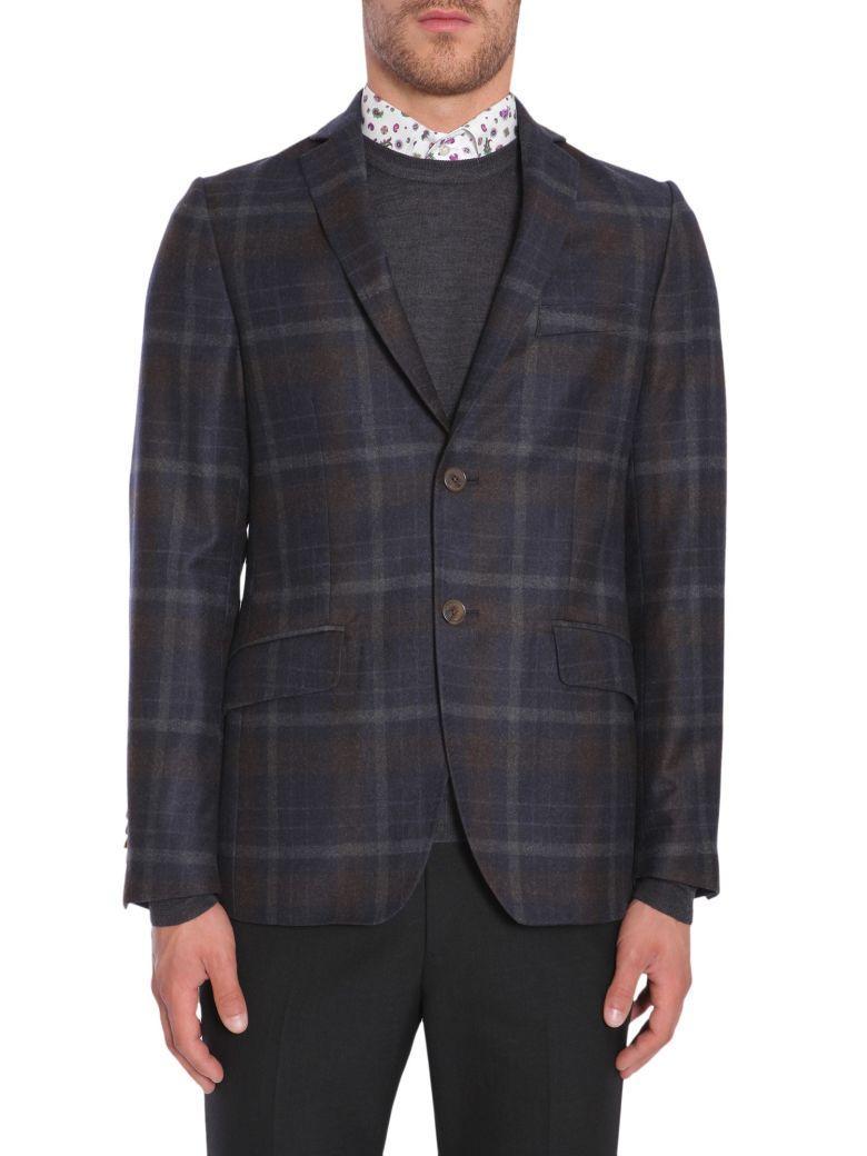 Etro Minerva Jacket In Blu