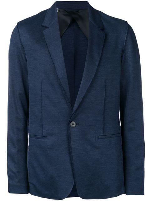 Lanvin Single Button Blazer In Blue