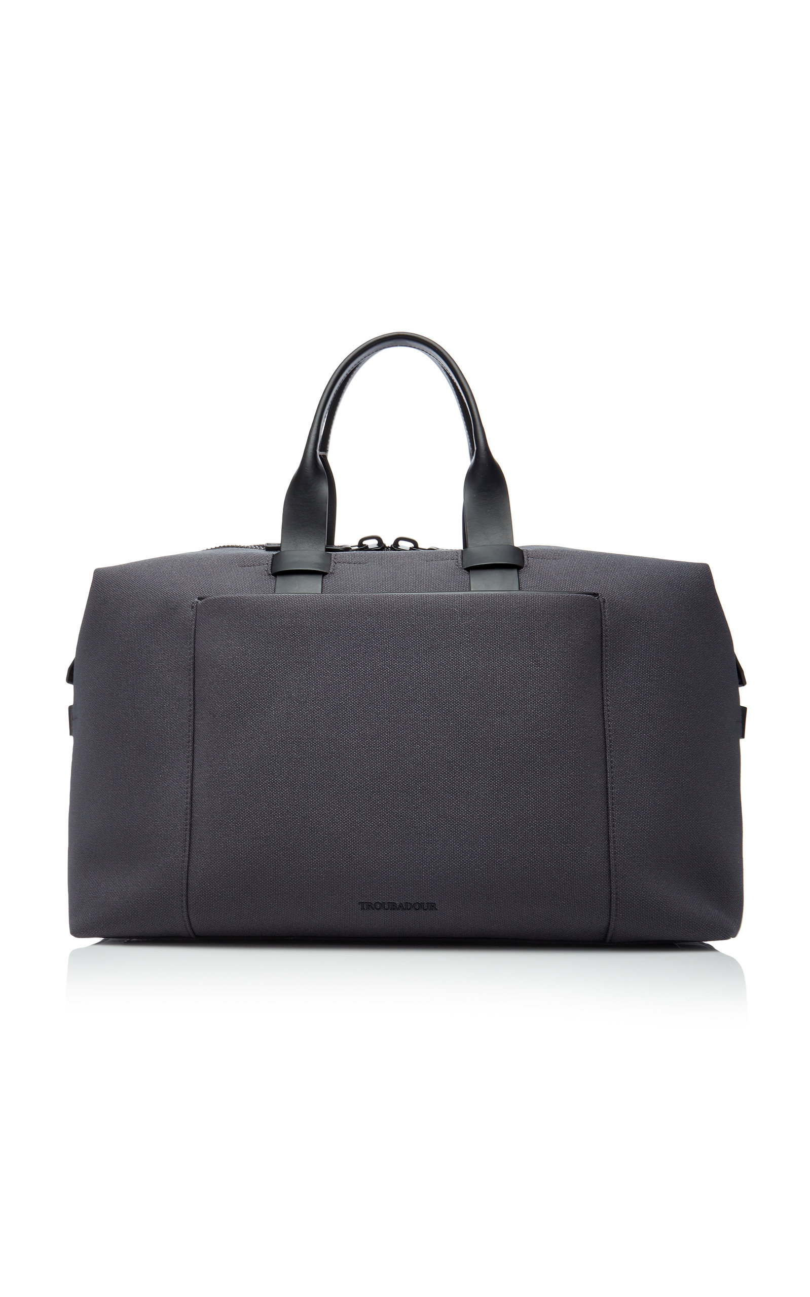 Troubadour Canvas Weekender In Grey