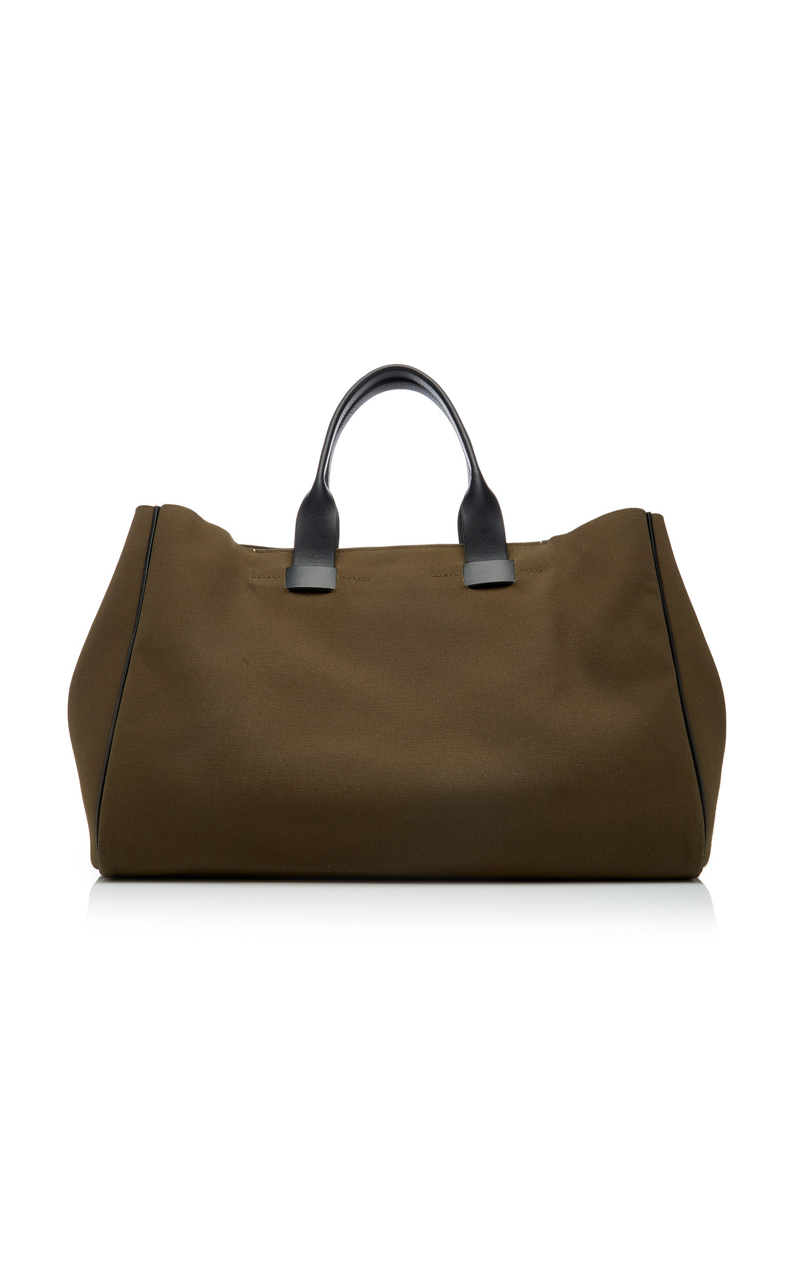 Troubadour Adventure Canvas Tote In Brown