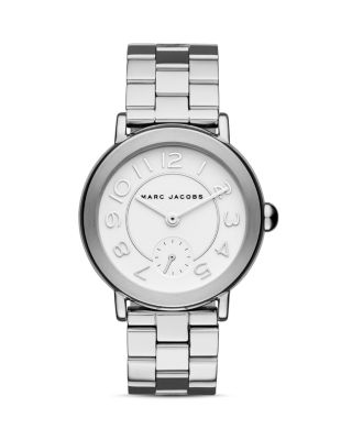 Marc Jacobs Women's Riley Stainless Steel Bracelet Watch 36Mm In Silver
