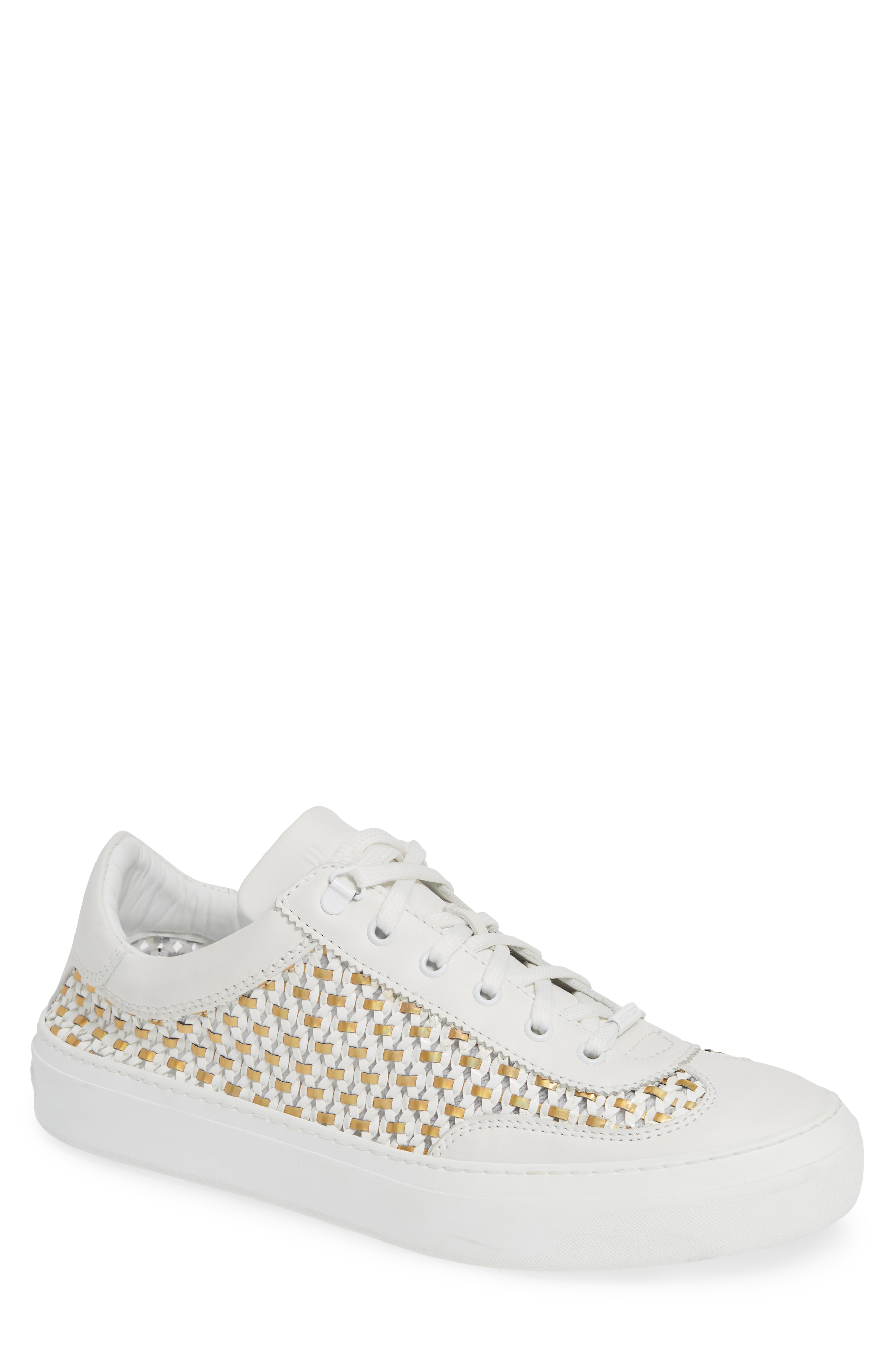 73a21def32c Jimmy Choo Ace Mux Sneaker In White Mix