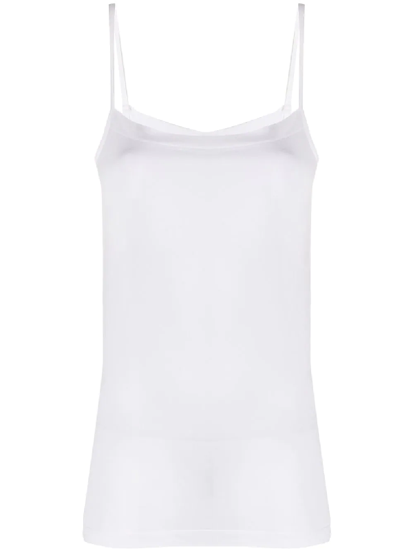 Wolford Hawaii White Stretch-jersey Tank