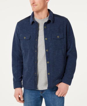 Tommy Bahama Men's San Pablo Shirt Jacket In Navy