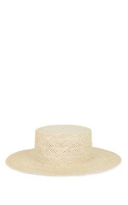 28bbec28406e62 Janessa Leone Beatrice Straw Hat In Brown | ModeSens