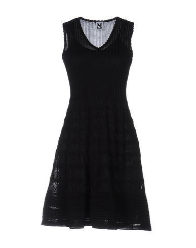 M Missoni Short Dresses In Black