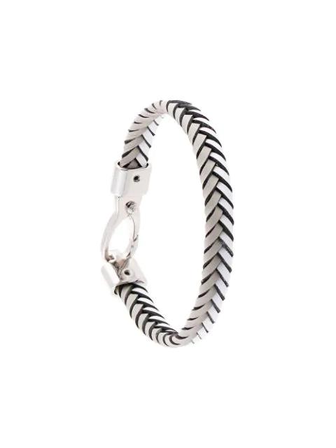 Tod's Braided Bracelet In White